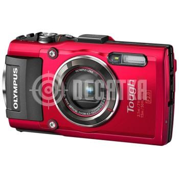 Компактный фотоаппарат Olympus Stylus Tough TG-4 Red