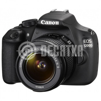 Зеркальный фотоаппарат Canon EOS 1200D kit (18-55mm) EF-S IS II