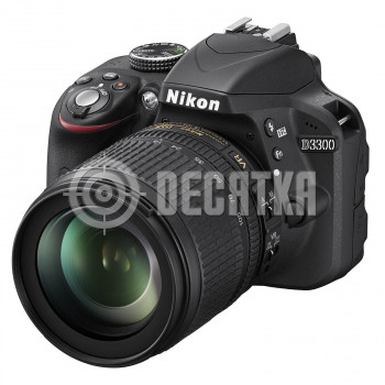 Зеркальный фотоаппарат Nikon D3300 kit (18-105mm VR)