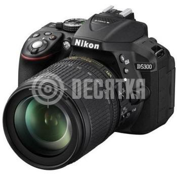 Зеркальный фотоаппарат Nikon D5300 kit (18-105mm VR)