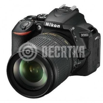 Зеркальный фотоаппарат Nikon D5600 kit (18-105mm VR)