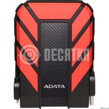 Жесткий диск ADATA DashDrive Durable HD710 Pro 1 TB Red (AHD710P-1TU31-CRD)