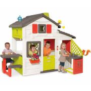 Домик Smoby Дом для друзей с чердаком и летней кухней