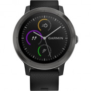 Смарт-годинник Garmin Vivoactive 3 Black with Slate Hardware