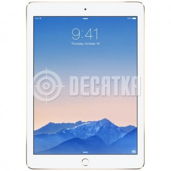 Планшет Apple iPad Air 2 Wi-Fi + LTE 128GB Gold (MH332, MH1G2)