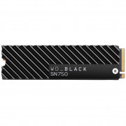 SSD накопитель WD Black SN750 NVME SSD 1 TB With Heatsink