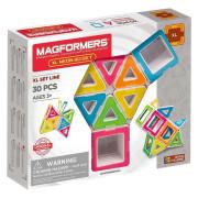 Магнітний конструктор Magformers Neon XL, 30 эл.