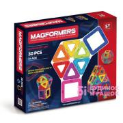 Магнітний конструктор Magformers Базовый набор, 30 элементов
