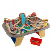 Железная дорога Kidkraft Waterfall Junction Train Set and Table