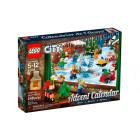 Классический конструктор LEGO City Новогодний календарь