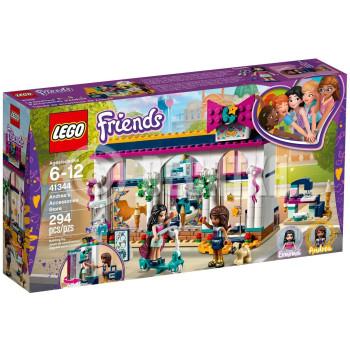 Классический конструктор LEGO Friends Магазин аксессуаров Андреа (41344)