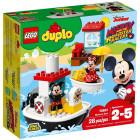 Классический конструктор LEGO DUPLO Disney Катер Микки 28 деталей