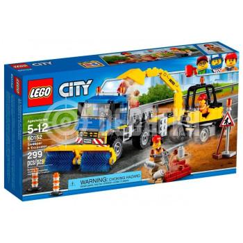 Классический конструктор LEGO City Уборочная техника (60152)