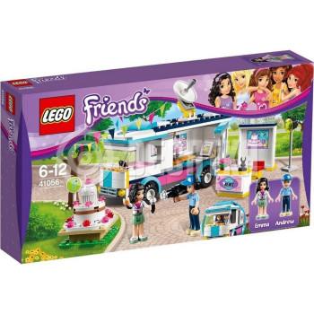 Классический конструктор LEGO Friends Новостной фургон Хартлейк 41056