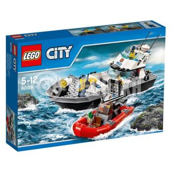 Классический конструктор LEGO City Police Полицейский патрульный катер (60129)