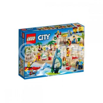 Классический конструктор LEGO City Отдых на пляже - жители City (60153)