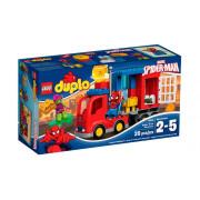 Пластмассовый конструктор LEGO Duplo Приключения на грузовике Человека Паука