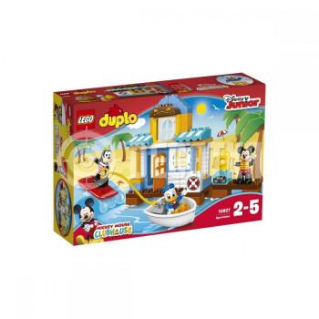 Классический конструктор LEGO DUPLO Микки и его друзья: Домик на пляже (10827)