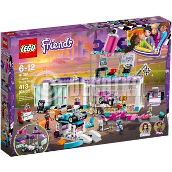 Классический конструктор LEGO Friends Мастерская по тюнингу автомобилей (41351)