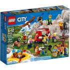 Классический конструктор LEGO City Town Любители активного отдыха