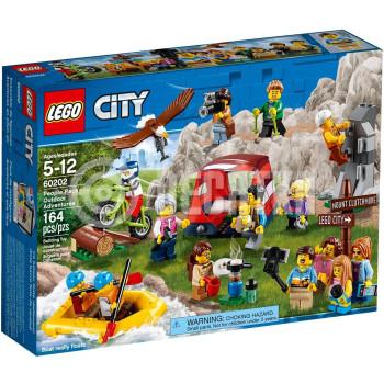 Классический конструктор LEGO City Town Любители активного отдыха (60202)