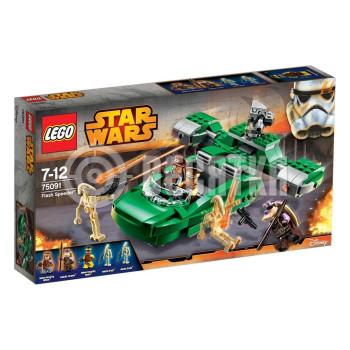 Классический конструктор LEGO Star Wars Флеш-спидер (75091)