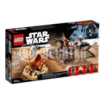 Классический конструктор LEGO Star Wars: Побег из пустыни (75174)