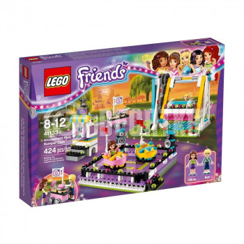 Классический конструктор LEGO Friends Парк развлечений: аттракцион Автодром (41133)