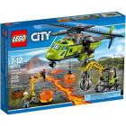Классический конструктор LEGO City Грузовой вертолёт исследователей вулканов