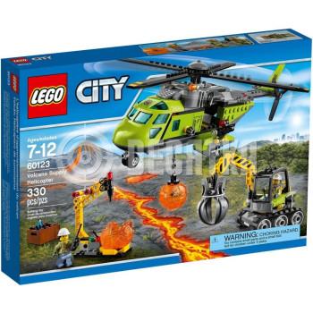 Классический конструктор LEGO City Грузовой вертолёт исследователей вулканов (60123)