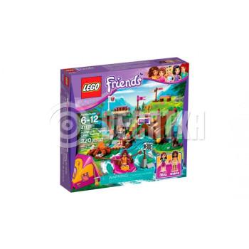 Классический конструктор LEGO Friends Спортивный лагерь: Сплав по реке (41121)