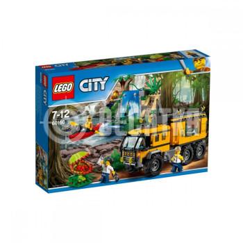 Классический конструктор LEGO City Передвижная лаборатория в джунглях (60160)