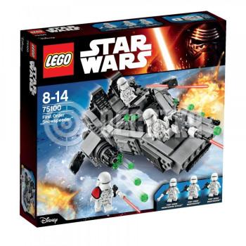 Классический конструктор LEGO Star Wars Снеговой спидер Первого Ордена (75100)