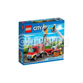 Классический конструктор LEGO City Fire Автомобиль пожарников (60111)