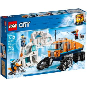 Классический конструктор LEGO City Arctic Expedition Грузовик ледовой разведки (60194)