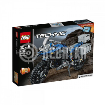 Авто-конструктор LEGO TECHNIC Приключения на BMW R 1200 GS (42063)
