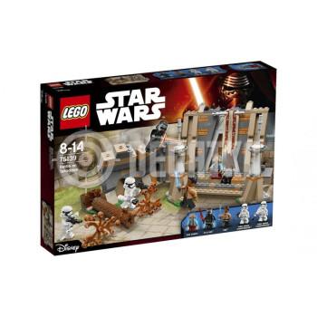 Классический конструктор LEGO Star Wars Битва на планете Такодана (75139)