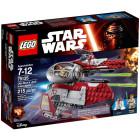 Классический конструктор LEGO Star Wars Перехватчик джедаев Оби-Вана Кеноби