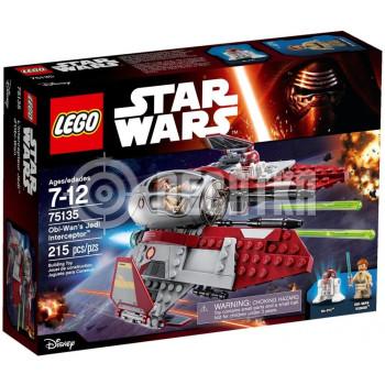 Классический конструктор LEGO Star Wars Перехватчик джедаев Оби-Вана Кеноби (75135)
