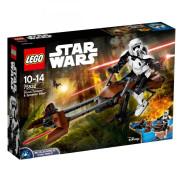 Классический конструктор LEGO Star Wars Штурмовик-разведчик на спидере