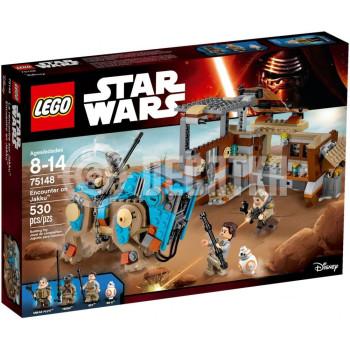 Классический конструктор LEGO Star Wars Схватка на Джакку (75148)