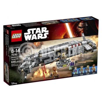 Классический конструктор LEGO Star Wars TM Star Wars Военный транспорт Сопротивления™ (75140)