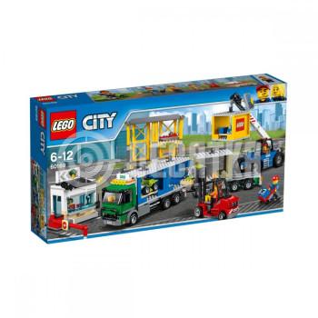 Классический конструктор LEGO City Грузовой терминал (60169)