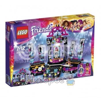Классический конструктор LEGO Friends Поп звезда: сцена (41105)