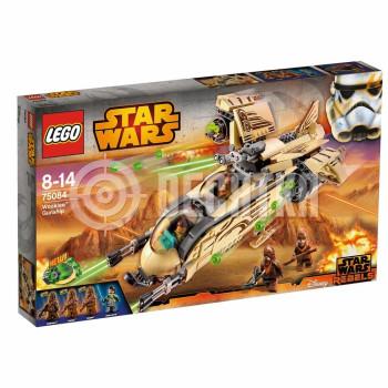 Классический конструктор LEGO Star Wars Боевой корабль Вуки (75084)