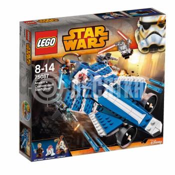 Классический конструктор LEGO Star Wars Джедайский истребитель Энакина (75087)