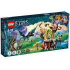 Классический конструктор LEGO Elves Нападение летучих мышей на Дерево эльфийских звёзд