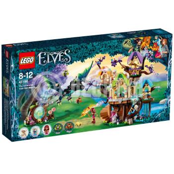 Классический конструктор LEGO Elves Нападение летучих мышей на Дерево эльфийских звёзд (41196)
