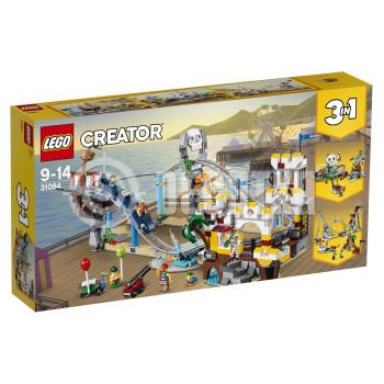 Классический конструктор LEGO Аттракцион Пиратские горки (31084)