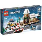 Классический конструктор LEGO Creator Сельская железнодорожная станция зимой